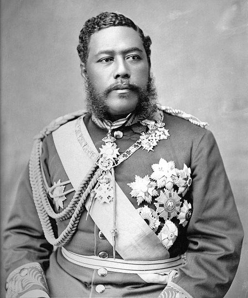 König David Kalakaua hat die Ukulele gefördert