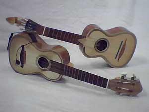 Zwei Cacaquinhos Vorgänger der Ukulele
