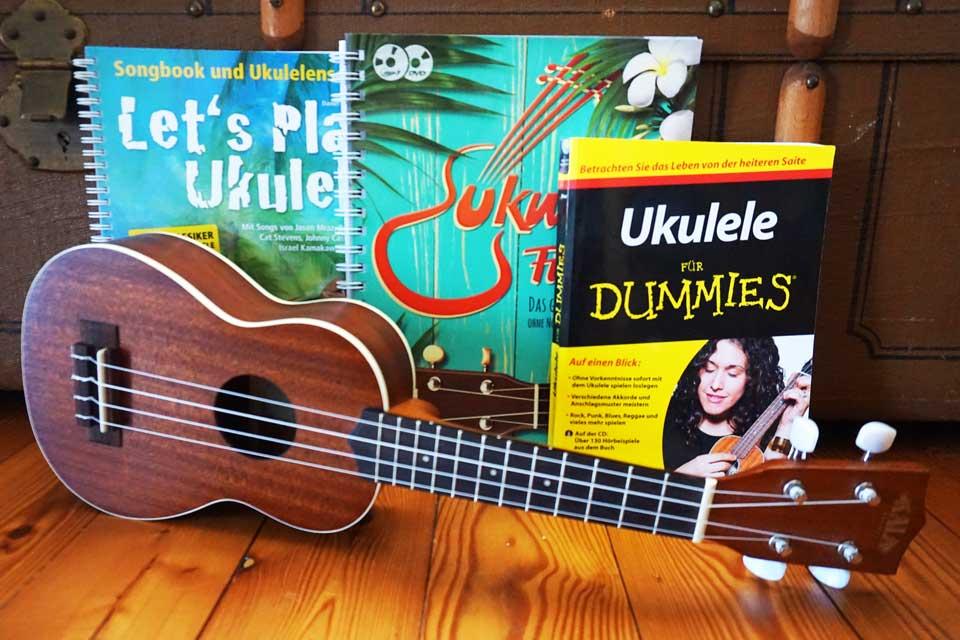 Die besten Ukulele-Bücher